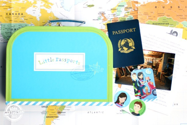 Little Passports Subscription Box for Kids - Kids Activities Blog
