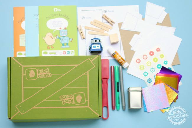 Subscription Boxes for Kids - Kiwi Crate contents