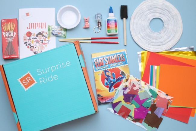 Subscription Boxes for Kids - Surprise Ride