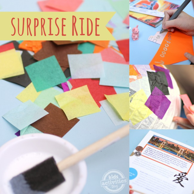 Surprise Ride Subscription Craft Box for Kids - Kids Activities Blog