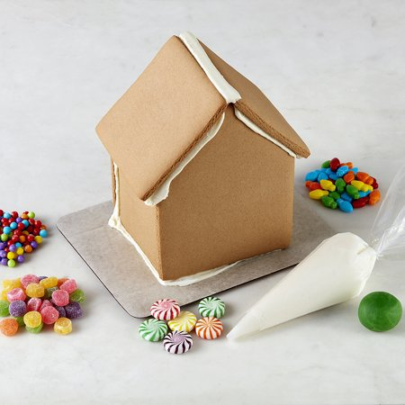 Walmart Gingerbread House Kit from Wilton Traditional