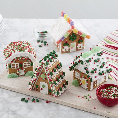 Walmart Gingerbread House Village from Wilton