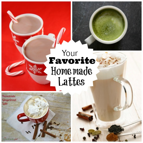 Your Favorite Homemade Lattes