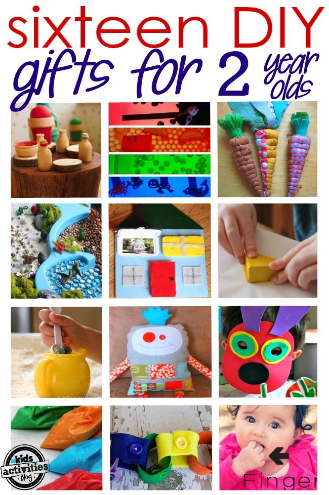 16 homemade gifts for 2 year olds