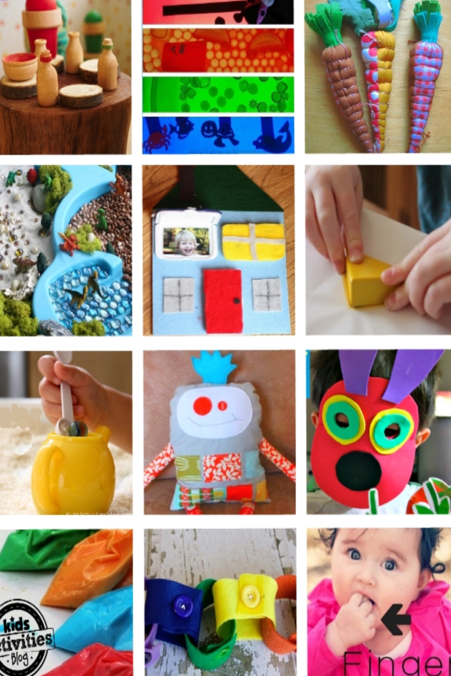 16 {Adorable} Homemade Gifts for a 2 Year Old