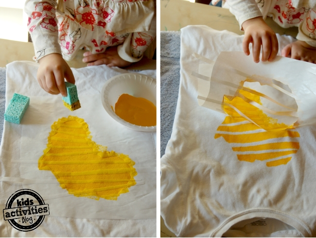 Easy Gift Idea:  Make a T-shirt Stencil Kit for the kiddo in your life.