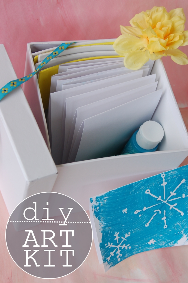 Give the gift of craft with a kit full of supplies to inspire your kiddos.