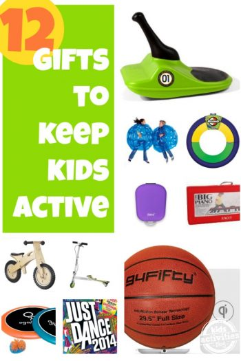 12 Gifts to Keep Kids Active - Kids Activities Blog