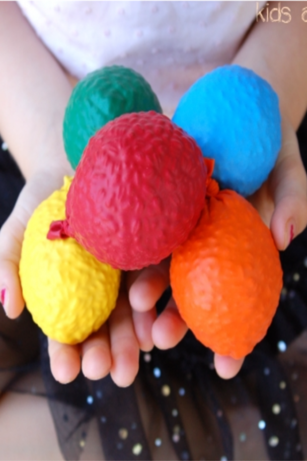 DIY juggling balls
