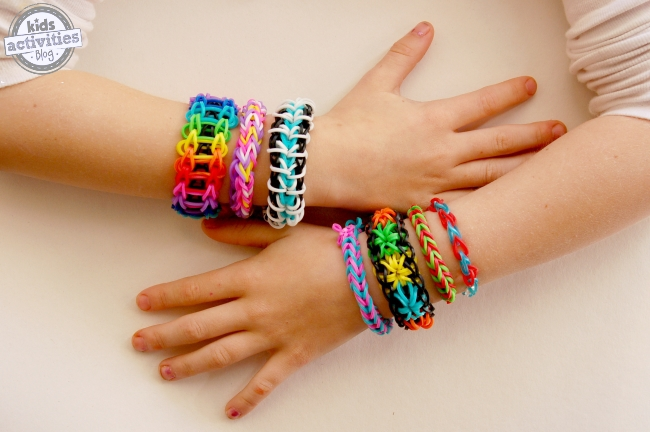 easy rainbow loom bracelets