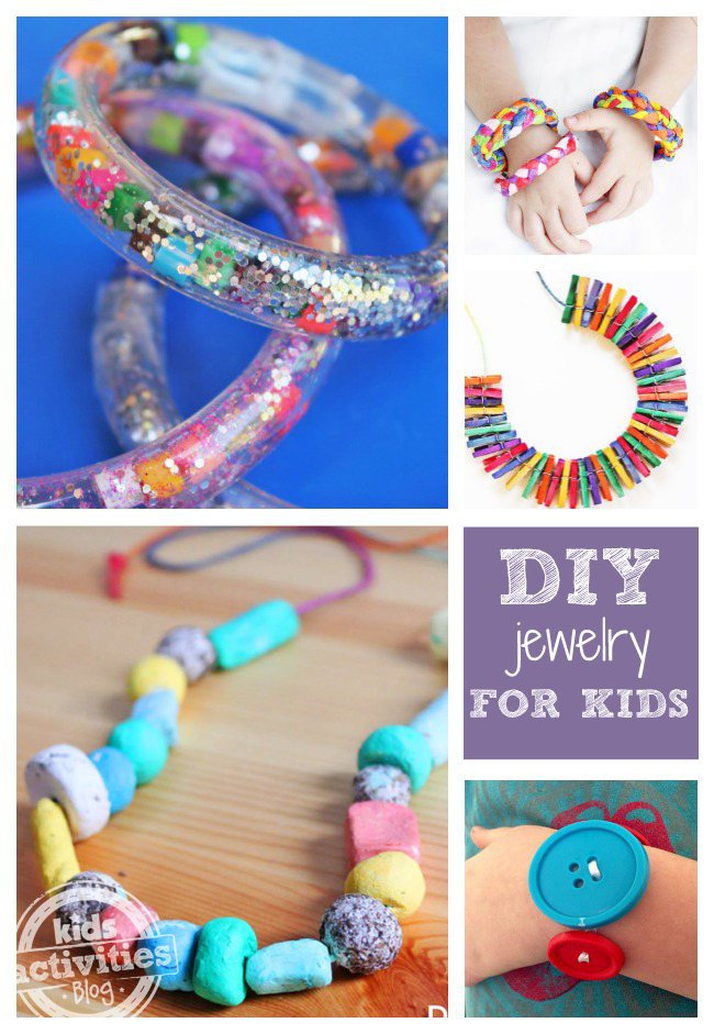 10 DIY Jewelry Projects for Kids