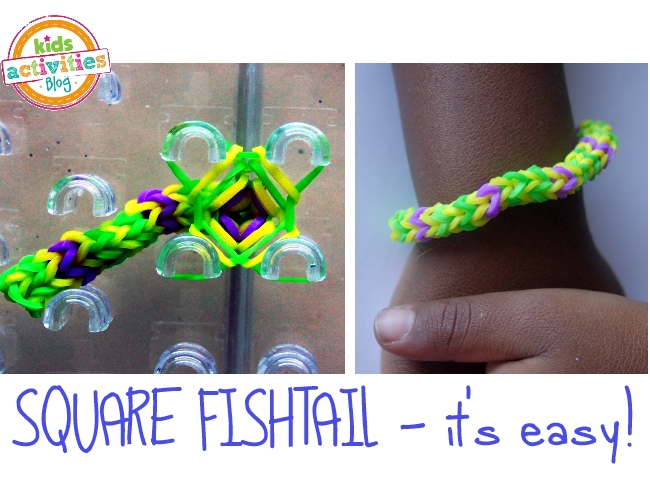 band bracelet tutorial for kids