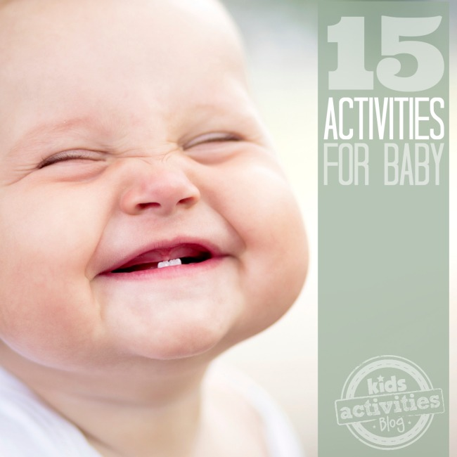 15 Fun Activities for Babies - Kids Activities Blog