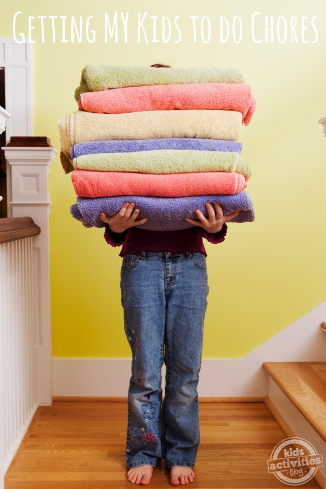 Getting MY Kids to Do Chores - Kids Activities Blog