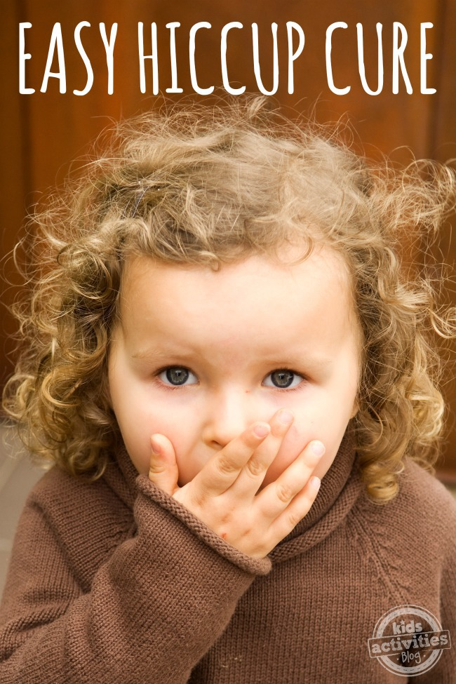 How to get rid of hiccups - child with hiccups shown