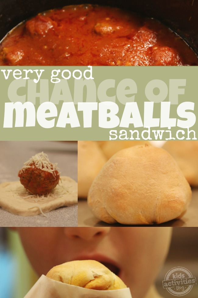 The Very Good Chance of Meatballs Sandwich from Kids Activities Blog
