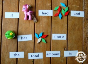 math word flash cards for kids