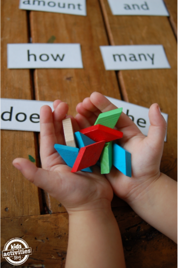 Use These Fun Math Sight Words Flashcards to Learn Math While Playing