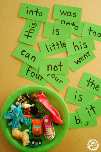 Help Your Child Learn Sight Words With This Fun Toy Activity