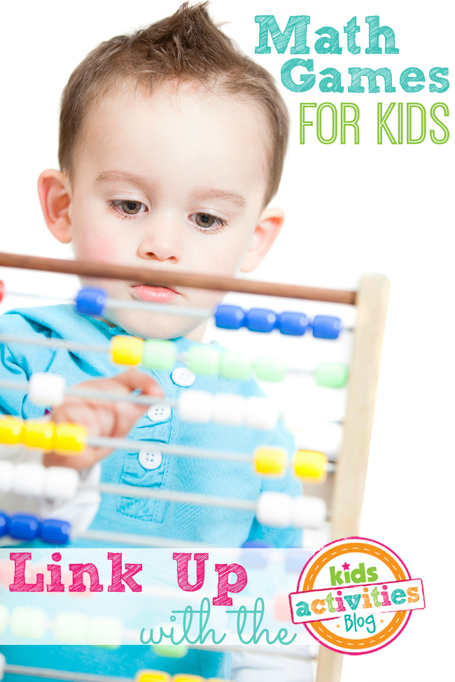 Math Games for Kids Linky Party from Kids Activities Blog