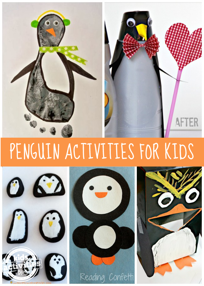 11 {Adorable} Penguin Activities