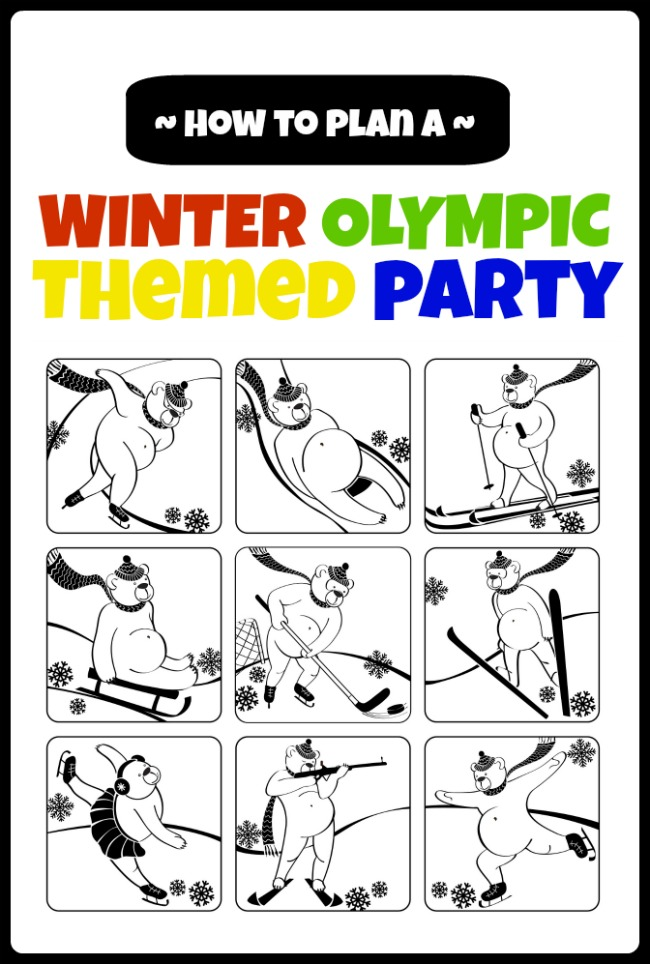 winter-olympic-themed-party-ideas