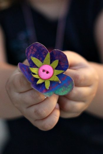 Toilet Paper Roll Necklace Tutorial - Kids Activities Blog