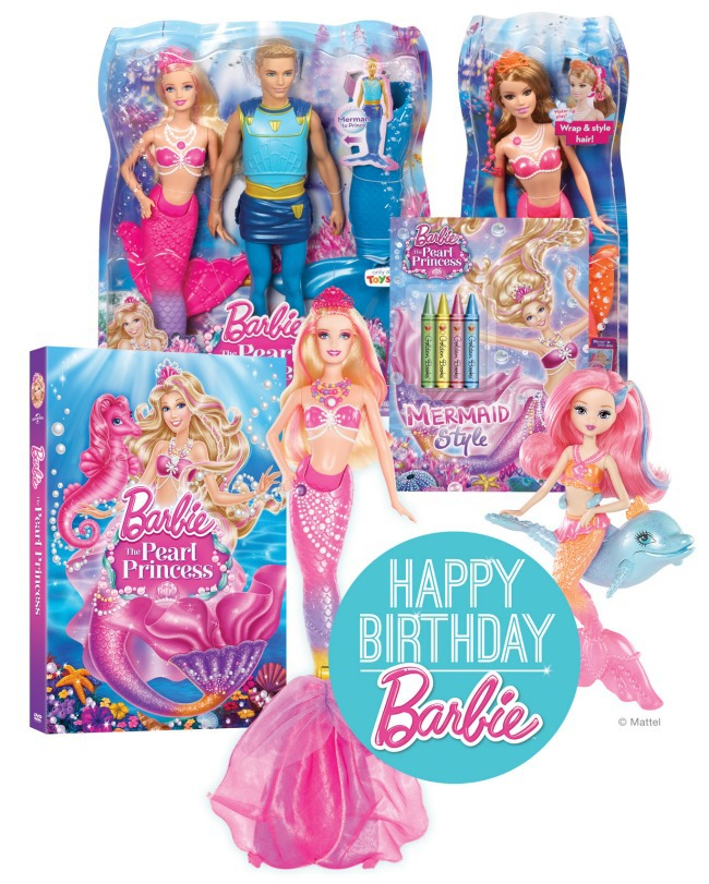 Barbie Prize Pack - Happy Birthday Barbie - Kids Activities Blog