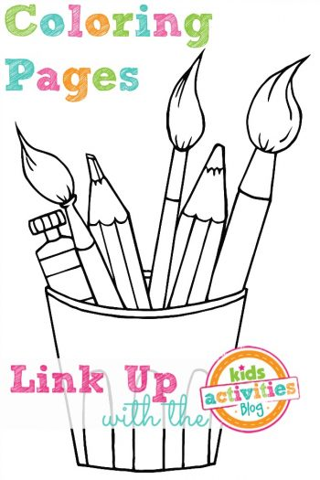 Coloring Pages Link Up With The Kids Activities Blog