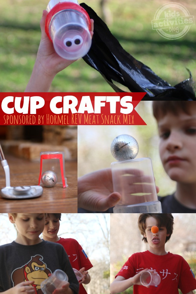 Cup Crafts Sponsored by Hormel Rev Meat Snack Mix