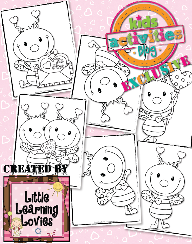 Love Bug Coloring Pages
