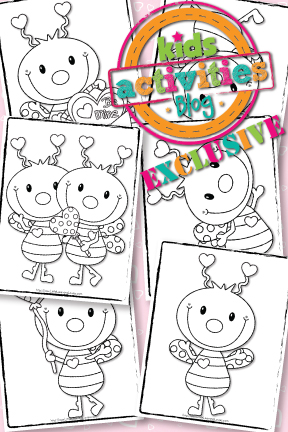 {Exclusive} Love Bug Coloring Pages – FREE!