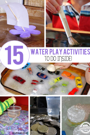 15 Creative Indoor Water Play Ideas