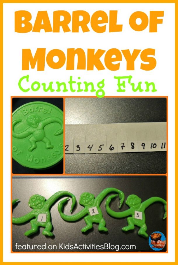 barrel of monkey counting game