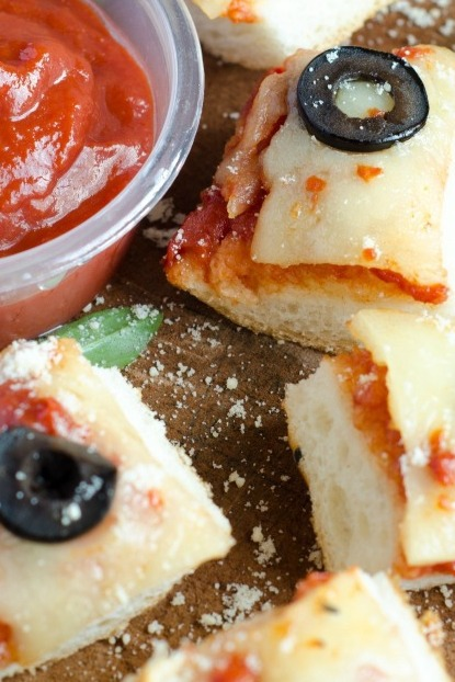 French Bread Pizza Bites — Simple and Fun!
