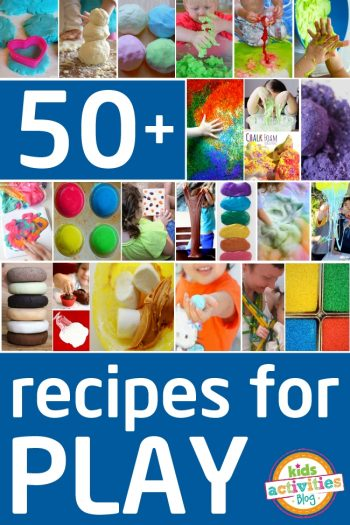 recipes for play with your kids