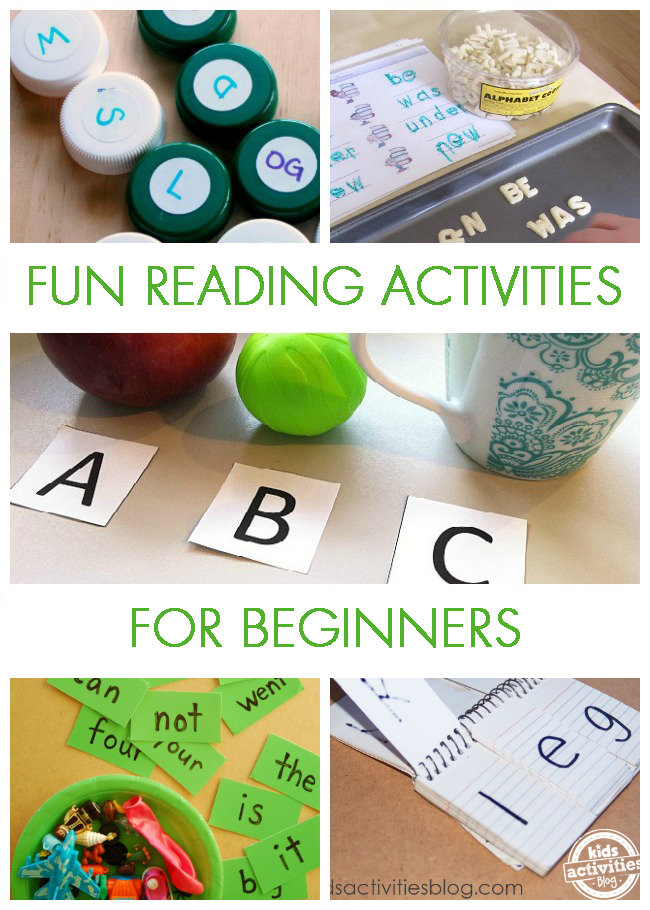 10 Fun Reading Activities for Beginners