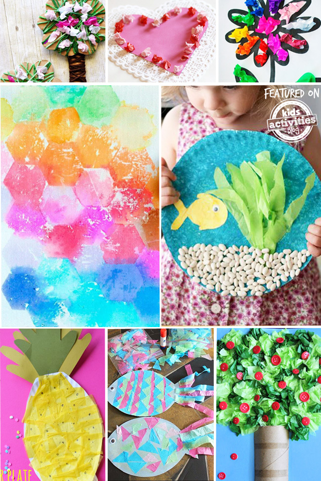 35+ Adorable Tissue Paper Crafts