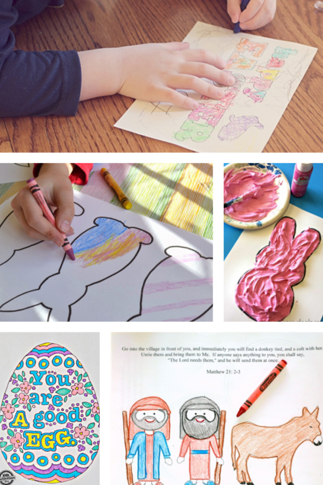 25+ Easter Coloring Pages for Kids