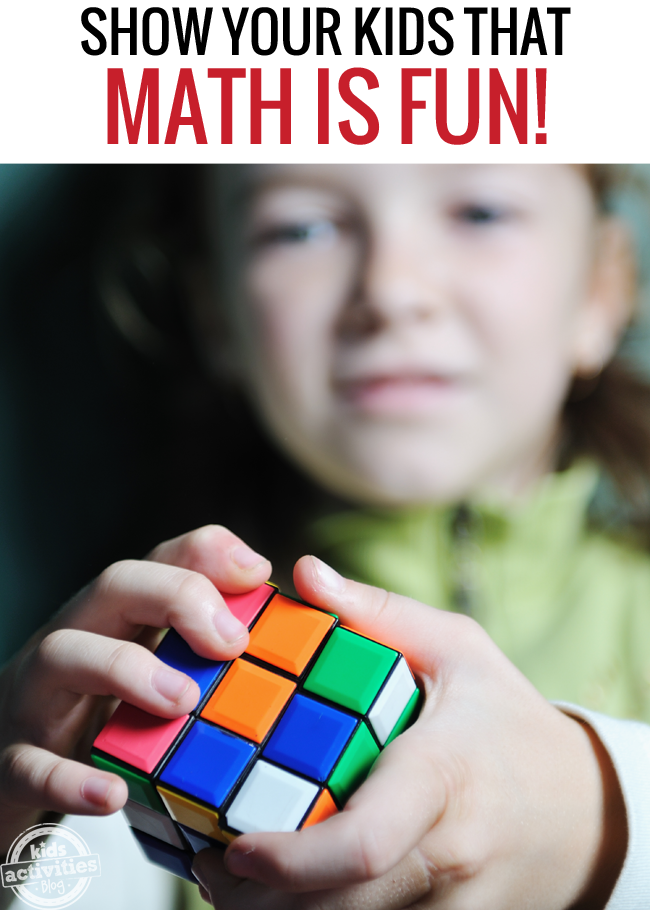 10 Ways to Show Your Kids that Math is Fun!