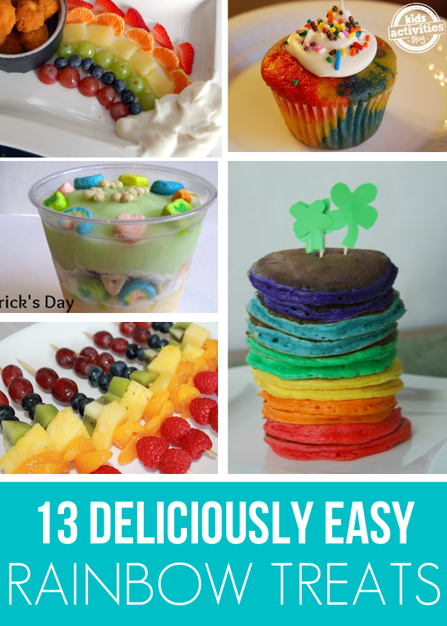 13 {Deliciously Easy} Rainbow Treats