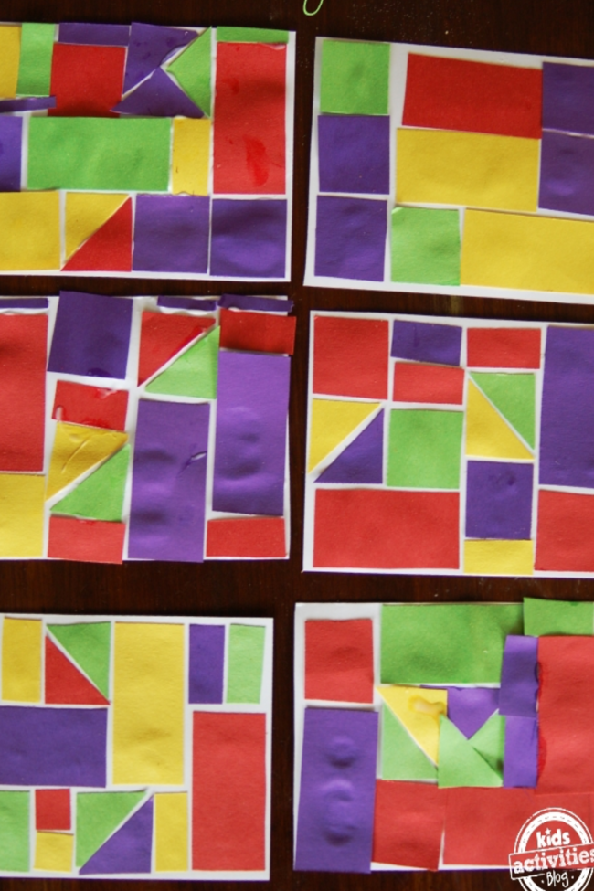 Let's Make Math Art Inspired by Klee