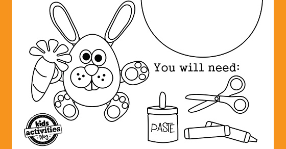 Cutest Printable Easter Egg Coloring Pages Paper Craft Kids Activities  Blog