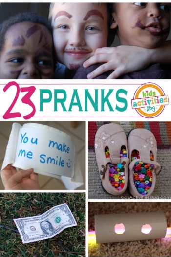 easy and funny pranks for kids - Kids Activities blog April Fools