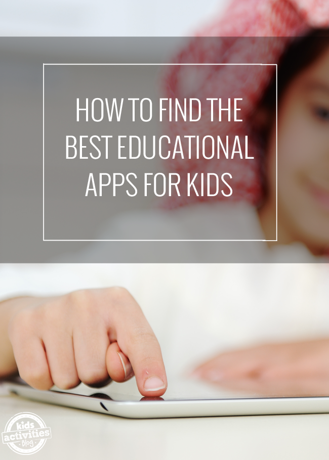 Where To Find the Best Educational Apps for Kids