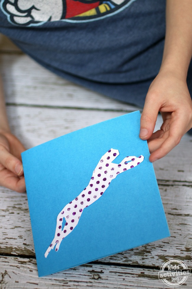 homemade thank you card for kids - Kids Activities Blog