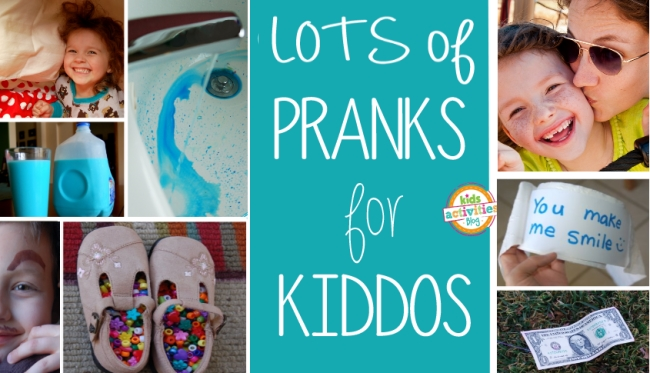 lots of pranks for kids