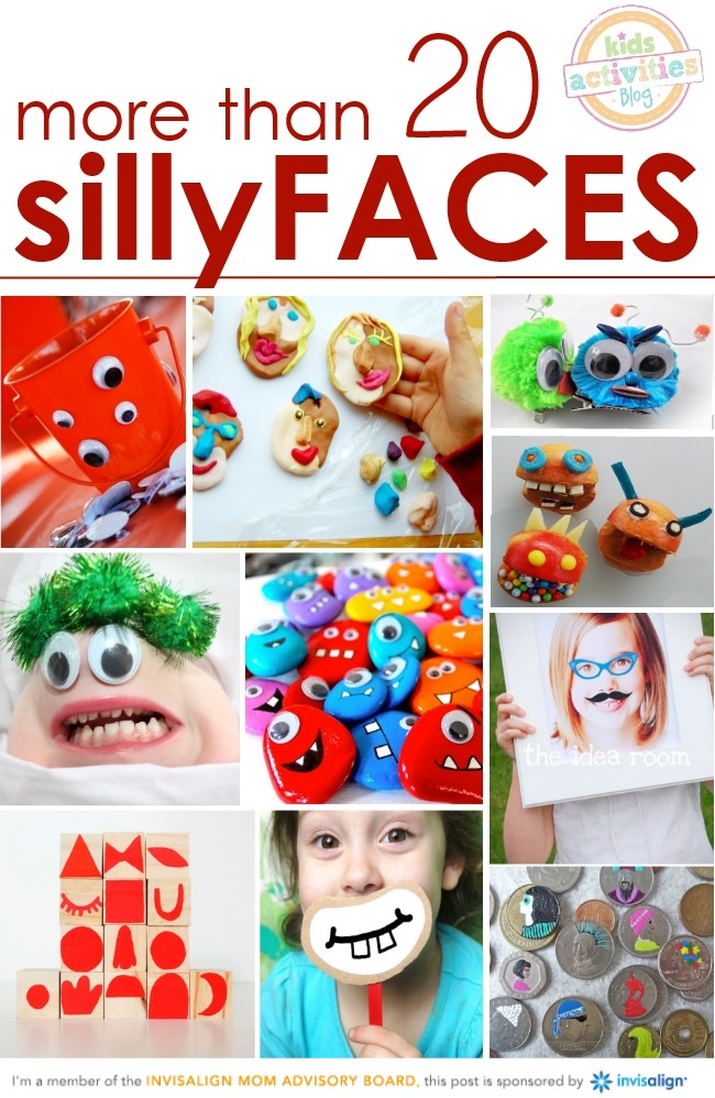 Celebration of smiles - silly faces for all ages