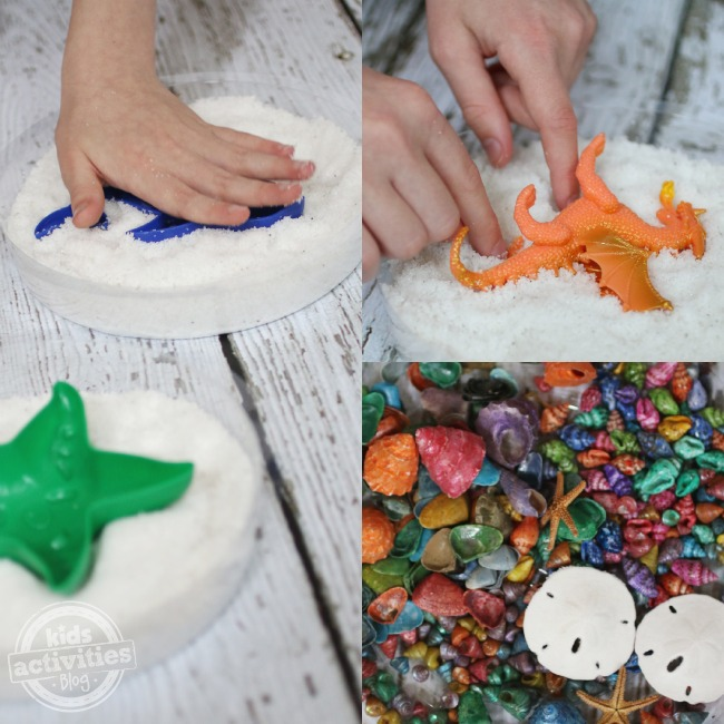 Making sand molds at home - Kids Activities Blog
