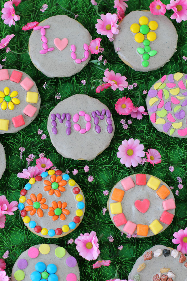 Super Easy Garden Stone Cookies for Any Celebration!